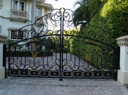 wrought iron gates, fencing and welding work near Avalon California